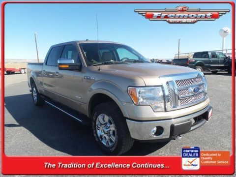 Pre-Owned 2012 Ford F-150 4WD SuperCrew 157 Lariat 4WD