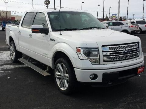 Pre-Owned 2013 Ford F-150 4WD SuperCrew 145 Limited 4WD