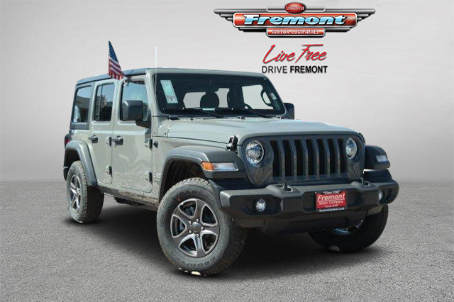 Jeep Wrangler Unlimited Sport >> New 2019 Jeep Wrangler Unlimited Sport S 4wd