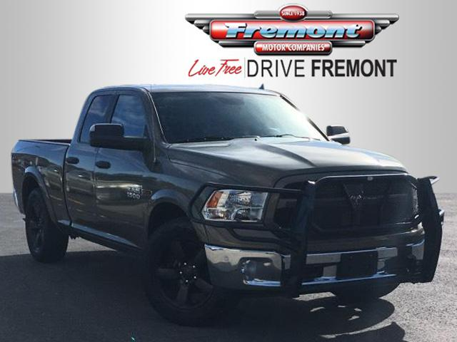 Certified Pre-Owned 2015 Ram 1500 4WD Quad Cab 140.5 Outdoorsman