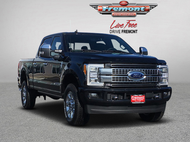 New 2019 Ford Super Duty F-350 SRW Platinum 4WD Crew Cab 6.75' Box