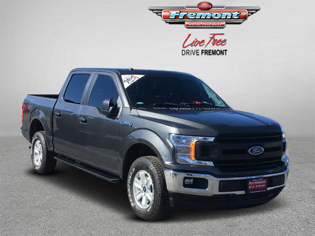 New 2018 Ford F-150 XL 4WD SuperCrew 5.5' Box
