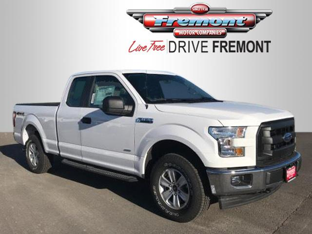 New 2017 Ford F-150 XL 4WD SuperCab 6.5' Box