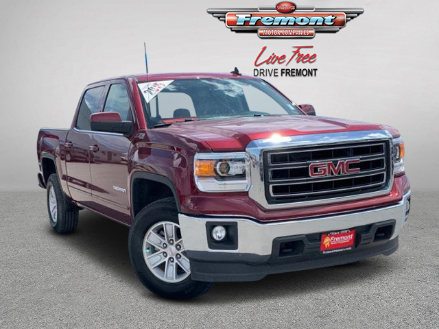 Certified Pre-Owned 2015 GMC Sierra 1500 4WD Crew Cab 143.5 SLE