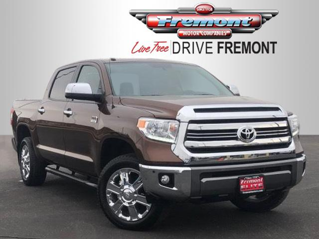 Certified Pre Owned 2017 Toyota Tundra 4wd 1794 Edition Crewmax 5 Bed