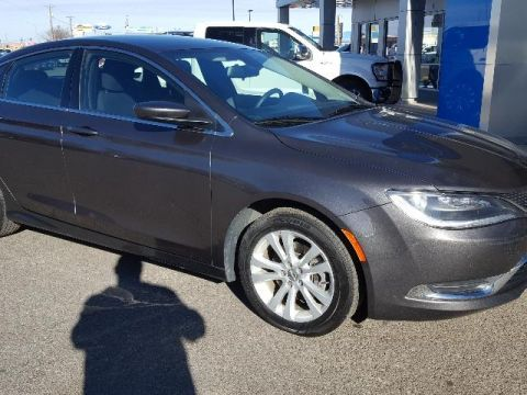 Fremont Certified 2016 Chrysler 200 4dr Sdn Limited FWD FWD 4dr Car
