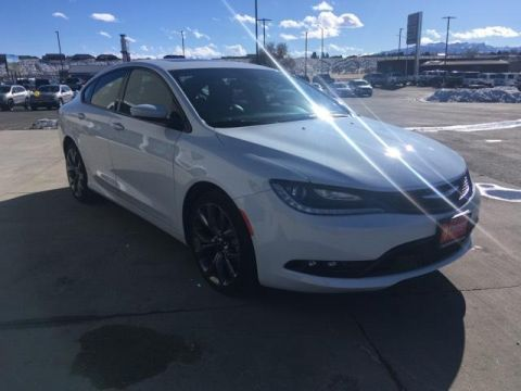 Fremont Certified 2015 Chrysler 200 4dr Sdn S AWD With Navigation & AWD