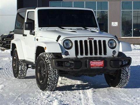 Certified Pre-Owned 2017 Jeep Wrangler 75th Anniversary 4x4 *Ltd Avail*