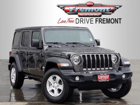New 2018 Jeep All-New Wrangler Unlimited Sport S