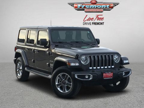 Certified Pre-Owned 2018 Jeep All-New Wrangler Unlimited Sahara