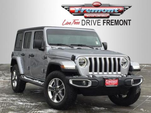 New 2018 Jeep All-New Wrangler Unlimited Sahara