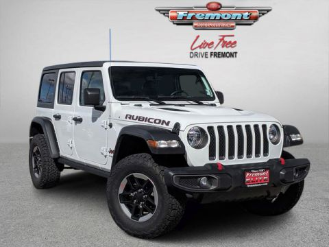 Certified Pre-Owned 2018 Jeep All-New Wrangler Unlimited Rubicon