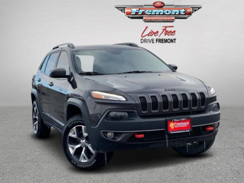 Certified Pre-Owned 2017 Jeep Cherokee Trailhawk L Plus 4x4