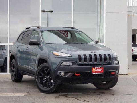 Certified Pre-Owned 2015 Jeep Cherokee 4WD 4dr Trailhawk