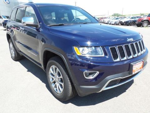 Certified Pre-Owned 2016 Jeep Grand Cherokee 4WD 4dr Limited