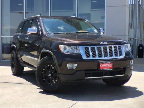 Pre-Owned 2012 Jeep Grand Cherokee Overland Summit