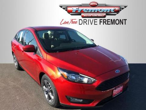 New 2018 Ford Focus SE Sedan FWD 4dr Car