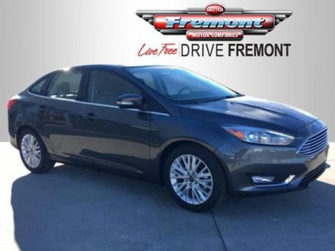 New 2018 Ford Focus Titanium Sedan