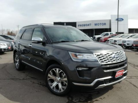 New 2019 Ford Explorer Platinum 4WD