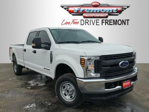 Certified Pre-Owned 2018 Ford Super Duty F-250 SRW XL 4WD Crew Cab 8' Box
