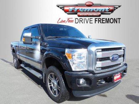Certified Pre-Owned 2015 Ford Super Duty F-250 SRW 4WD Crew Cab 156 Platinum