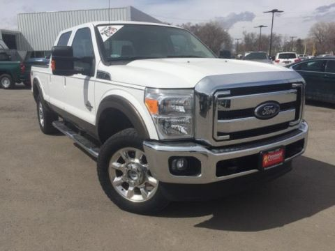 Certified Pre-Owned 2016 Ford Super Duty F-250 SRW 4WD Crew Cab 156 Lariat
