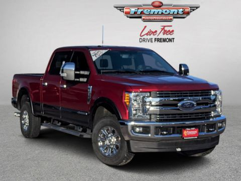 Certified Pre-Owned 2017 Ford Super Duty F-250 SRW Lariat 4WD Crew Cab 6.75' Box