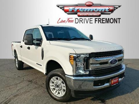 Certified Pre-Owned 2017 Ford Super Duty F-250 SRW XLT 4WD Crew Cab 6.75' Box