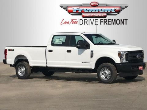 Pre-Owned 2018 Ford Super Duty F-250 SRW XL 4WD Crew Cab 8' Box