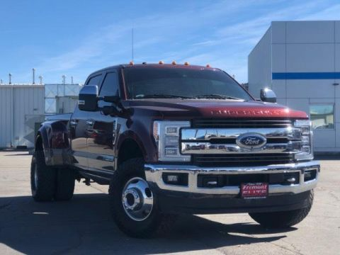 Certified Pre-Owned 2017 Ford Super Duty F-350 DRW King Ranch 4WD Crew Cab 8' Box