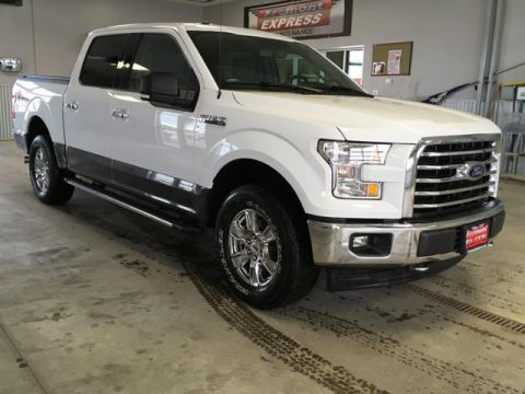 Certified Pre-Owned 2017 Ford F-150 XLT 4WD SuperCrew 5.5' Box