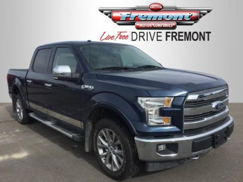 Certified Pre-Owned 2017 Ford F-150 Lariat 4WD SuperCrew 5.5' Box