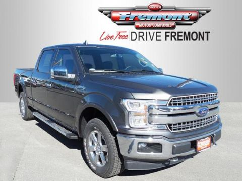 New 2018 Ford F-150 LARIAT 4WD SuperCrew 6.5' Box