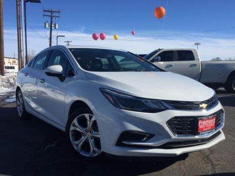 Certified Pre-Owned 2018 Chevrolet Cruze 4dr Sdn 1.4L Premier w/1SF