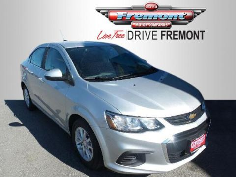 New 2018 Chevrolet Sonic 4dr Sdn Manual LT