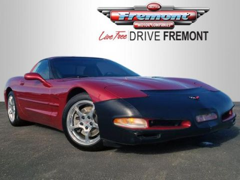 Certified Pre-Owned 2001 Chevrolet Corvette 2dr Cpe
