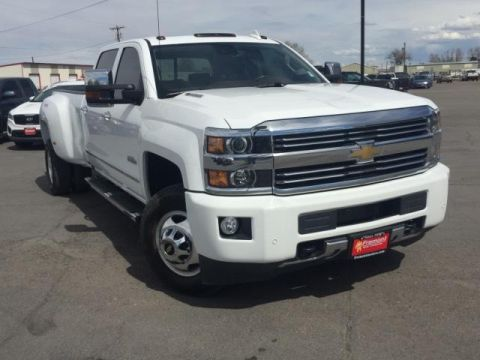 Pre-Owned 2016 Chevrolet Silverado 3500HD 4WD Crew Cab 167.7 High Country