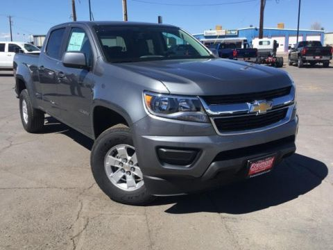 New 2019 Chevrolet Colorado 4WD Crew Cab 140.5 Work Truck