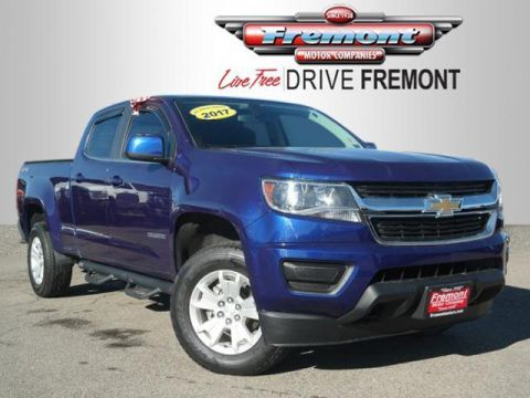 Certified Pre-Owned 2017 Chevrolet Colorado 4WD Crew Cab 140.5 LT