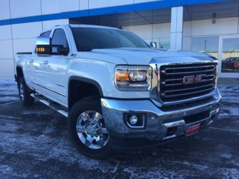 Certified Pre-Owned 2017 GMC Sierra 2500HD 4WD Crew Cab 153.7 SLT