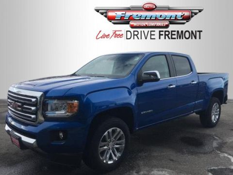 New 2018 GMC Canyon 4WD Crew Cab 140.5 SLT 4WD