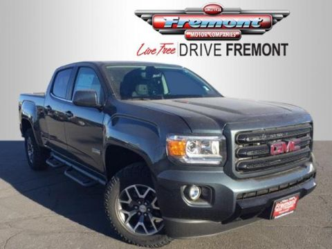 New 2019 GMC Canyon 4WD Crew Cab 140.5 All Terrain w/L