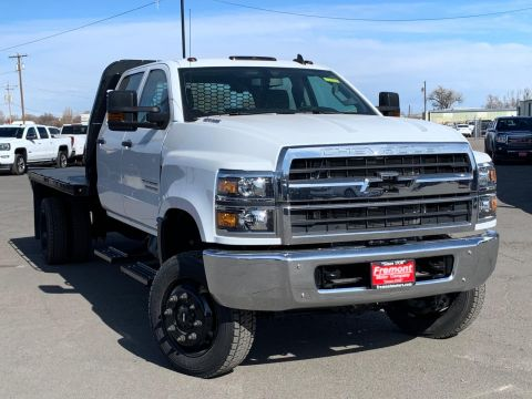 New 2020 Chevrolet Silverado MD 4WD Crew Cab Work Truck