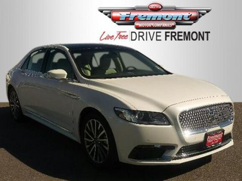 New 2017 Lincoln Continental Select FWD With Navigation