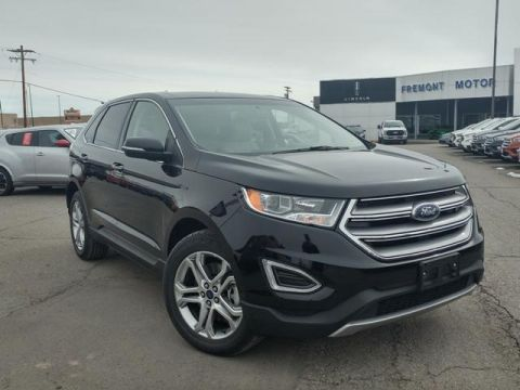 Certified Pre-Owned 2017 Ford Edge Titanium AWD