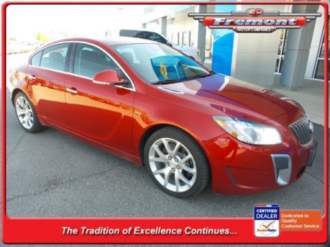 Fremont Certified 2013 Buick Regal 4dr Sdn GS FWD 4dr Car