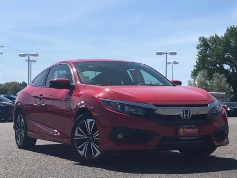 Certified Pre-Owned 2017 Honda Civic EX-T Manual