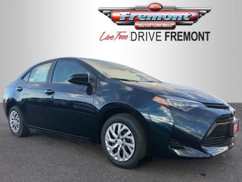New 2018 Toyota Corolla LE CVT FWD 4dr Car