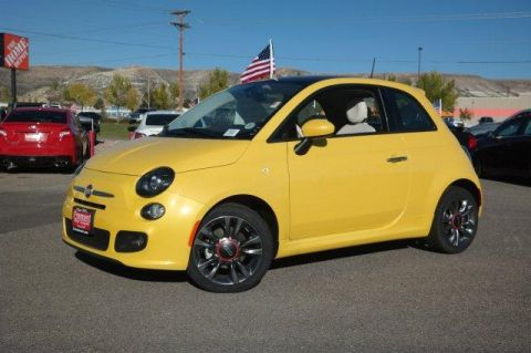 New 2017 FIAT 500 Pop Hatch With Navigation