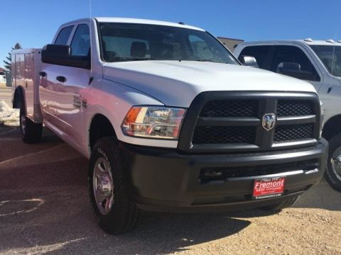New 2018 Ram 3500 Tradesman 4x4 Crew Cab 8' Box 4WD